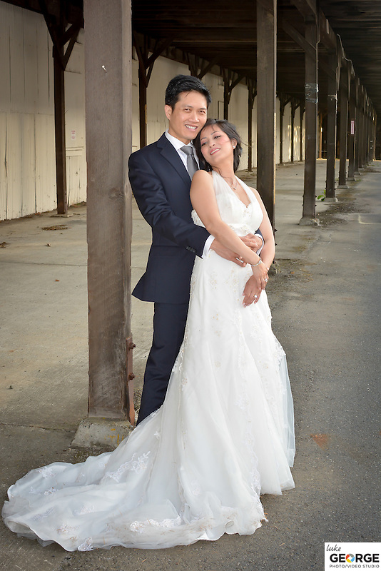 Mare Island Bridal portraits with Fiona and Andrew