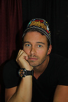 Days of Our Lives Eric Martsolf wearing one of the Hats for Health at the 8th Annual Connecticut Women's Expo presented by Comcast on September 11 & 12, 2010 at the Connecticut Expo Center, Hartford, Connecticut. (Photo by Sue Coflin/Max Photos)