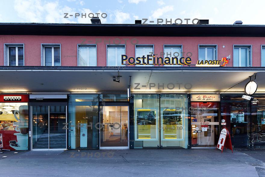 Geschaefte Bahnhof Sion am 25. Oktober 2011<br /> Mehr Bahnhof fuer SBB Immobilien<br /> <br /> Copyright © Zvonimir Pisonic / SBB CFF FFS