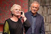 Marie-Christine BARRAULT, Alain DOUTEY - Filage de la piece 'CONFIDENCES' de Jody Pietro - 28 aout 2017 - Theatre Rive Gauche, Paris, France