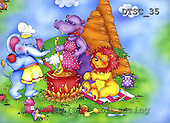 Hans, CUTE ANIMALS, paintings+++++,DTSC35,#AC# deutsch, illustrations, pinturas