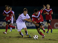 Zachary Carroll, Jordan Hamilton. The United States defeated Canada, 3-0, during the final game of the CONCACAF Men's Under 17 Championship at Catherine Hall Stadium in Montego Bay, Jamaica.
