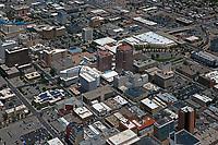 aerial photograph of downtown Albuquerque, New Mexico