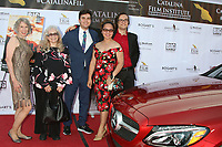 LOS ANGELES - SEP 26:  JC Henning, Marbry Steward, Cameron Penn, Citadel Penn, and Ezra Player at the Catalina Film Festival Drive Thru Red Carpet, Saturday at the Scottish Rite Event Center on September 26, 2020 in Long Beach, CA