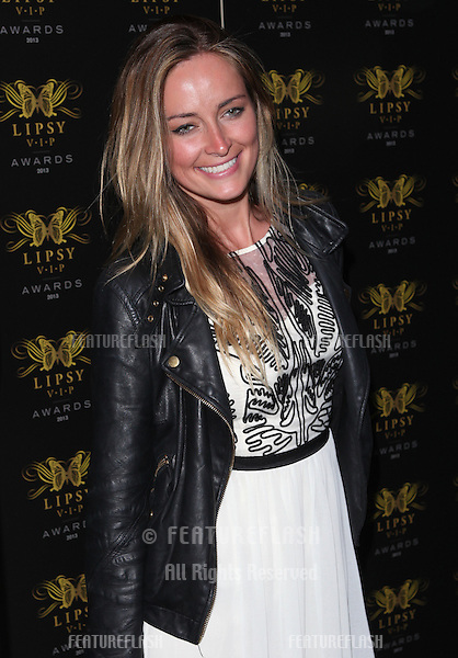 Fran Newman-Young arriving for the Lipsy Fashion Awards,  at Dstrkt, London. 29/05/2013 Picture by: Alexandra Glen / Featureflash
