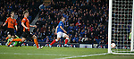 Lee Wallace scores the opening goal for Rangers