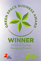 DS Smith Packaging, Crumlin, Newport, which has won a Green Space Business Award.