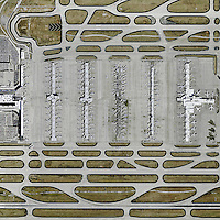 aerial map Hartsfield Atlanta International Airport, Atlanta, Georgia
