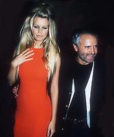 #ClaudiaSchiffer #GianniVersace 1992<br /> Photo by John Barrett/PHOTOlink.net