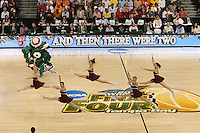 8 April 2008: Stanford Cardinal Dollies during Stanford's 64-48 loss against the Tennessee Lady Volunteers in the 2008 NCAA Division I Women's Basketball Final Four championship game at the St. Pete Times Forum Arena in Tampa Bay, FL.
