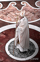Pope Francis mass. the Solemnity of Epiphany at St Peter's basilica at the Vatican. January 6, 2015