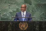 General Assembly Seventy-third session, 14th plenary meeting<br /> <br /> <br /> <br /> His Excellency Alpha BARRY Minister for Foreign affairs and Cooperation of Burkina Faso