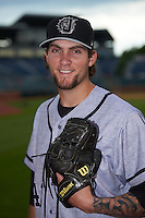 Jacksonville Suns pitcher Trevor Williams (43) poses for a photo before a game against the Chattanooga Lookouts on April 30, 2015 at AT&T Field in Chattanooga, Tennessee.  Jacksonville defeated Chattanooga 6-4.  (Mike Janes/Four Seam Images)