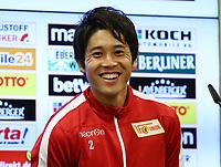 Atsuto Uchida, PK press conference zur Vorstellung   <br /> / Sport / Football Football / zweite 2.Bundesliga  DFL /  2017/2018 / 23.08.2017 / 1.FC Union Berlin FCU/ Training 170823024 /      <br />     *** Local Caption *** © pixathlon<br /> Contact: +49-40-22 63 02 60 , info@pixathlon.de