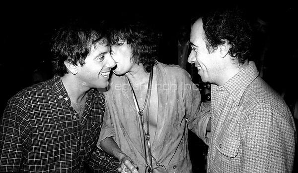 1978 <br /> New York City<br /> Steve Rubell Ali McGraw David Geffen at Studio 54<br /> Credit: Adam Scull-PHOTOlink/MediaPunch