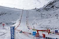 17th October 2020, Rettenbachferner, Soelden, Austria; FIS World Cup Alpine Skiing Womens Downhill; The glacier's slope