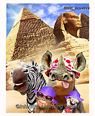 Howard, REALISTIC ANIMALS, REALISTISCHE TIERE, ANIMALES REALISTICOS, selfies,rhino,zebra,pyramides,gizeh, paintings+++++,GBHRPROV246,#a#, EVERYDAY
