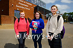 After sitting paper 1 in Irish on Monday in Presentation Milltown, l to r: Aisling O'Callaghan (Listry), Caoimhe Foley (Beaufort) and Ruth Daly (Firies).