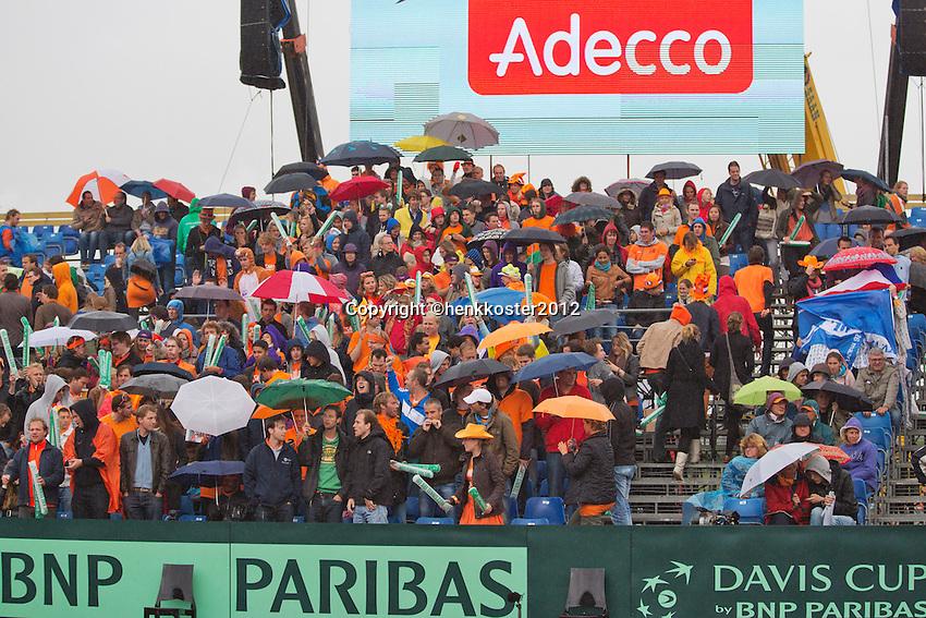 14-09-12, Netherlands, Amsterdam, Tennis, Daviscup Netherlands-Swiss,  Dutch fans