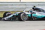 Valtteri Bottas (77) of Finland in action during qualifying before this weekends Formula 1 United States Grand Prix race at the Circuit of the Americas race track in Austin,Texas.