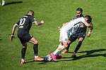 Sercan Sararer #10 (Tuerkguecue Muenchen), Luka Tankulic #10 (SV Meppen), Uenal Tosun #8 (Tuerkguecue Muenchen), Tuerkguecue Ataspor Muenchen vs. SV Meppen, 04.04.2021<br /> <br /> DFB regulations prohibit any use of photographs as image sequences and/or quasi-video<br /> <br /> Foto © PIX-Sportfotos *** Foto ist honorarpflichtig! *** Auf Anfrage in hoeherer Qualitaet/Aufloesung. Belegexemplar erbeten. Veroeffentlichung ausschliesslich fuer journalistisch-publizistische Zwecke. For editorial use only.