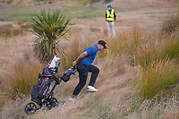 Christian Nitsche. Day one of the Renaissance Brewing NZ Stroke Play Championship at Paraparaumu Beach Golf Club in Paraparaumu, New Zealand on Thursday, 18 March 2021. Photo: Dave Lintott / lintottphoto.co.nz