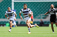 Kali Hala of Auckland runs in a try during the World Club 7s at Twickenham on Sunday 18th August 2013 (Photo by Rob Munro)