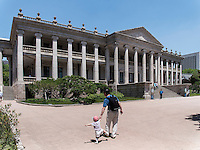 Neohlassizistische Halle Seokjojeon im Palast Deoksugung in Seoul, Südkorea, Asien<br /> Hall Seokjojeon in palace Deoksugung, Seoul, South Korea, Asia