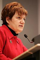 Montreal,(Qc) CANADA -May 2005  file photo - Claudette Charbonneau, Pesidente CSN