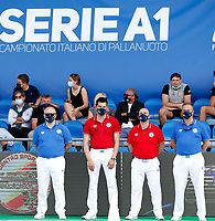 Arbitri <br /> Padova 09/06/2021 Centro Sportivo Plebiscito <br /> Campionato Italiano Serie A Pallanuoto Donne <br /> Gara 5 <br /> Plebiscito Padova - Ekipe Orizzonte Catania <br /> Photo Emanuele Pennacchio / Deepbluemedia / Insidefoto
