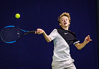 Hilversum, Netherlands, December 2, 2018, Winter Youth Circuit Masters, Marcus van den Berg (NED)<br /> Photo: Tennisimages/Henk Koster