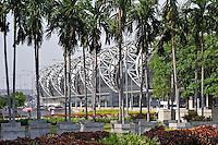 New Bangkok International Airport, also known as Suvarnabhumi International Airport, Bangkok, Thailand