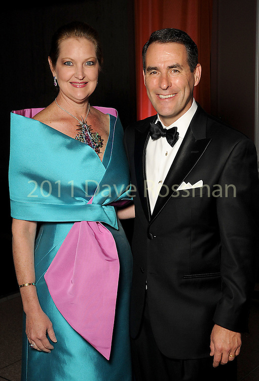 Chairs Joella and Steve Mach at the Ole! A Night in Old Mexico Gala at the Museum of Natural Science Saturday March 05,2016.(Dave Rossman Photo)