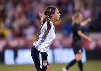 Sydney Leroux. The USWNT tied New Zealand, 1-1, at an international friendly at Crew Stadium in Columbus, OH.