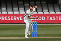 Ed Barnard in bowling action for Worcestershire during Essex CCC vs Worcestershire CCC, LV Insurance County Championship Group 1 Cricket at The Cloudfm County Ground on 8th April 2021