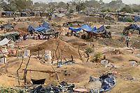 BURKINA FASO , Fada N´Gourma, village TINDANGOU, gold mining Camp PAMA, artisanal gold mines