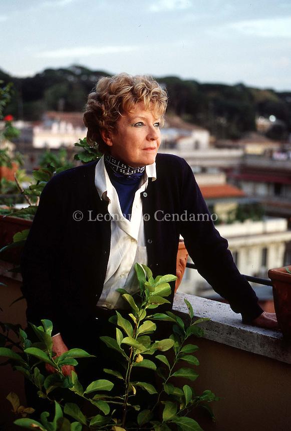 1999: DACIA MARAINI, WRITER © Leonardo Cendamo