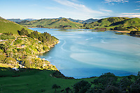 Living along Papanui Inlet on Otago Peninsula, Coastal Otago, East Coast, New Zealand