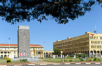 ZAMBIA Lusaka city center, State House, office of the President