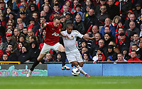 Pictured: Wayne Routledge (R).<br />