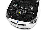 Car Stock 2016 BMW M6 Convertible - 2 Door Convertible Engine  high angle detail view