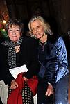 DACIA MARAINI CON MARINA CICOGNA<br /> VERNISSAGE MOSTRA FOTOGRAFICA DI MARINA CICOGNA- ACCADEMIA DI FRANCIA ROMA 2009