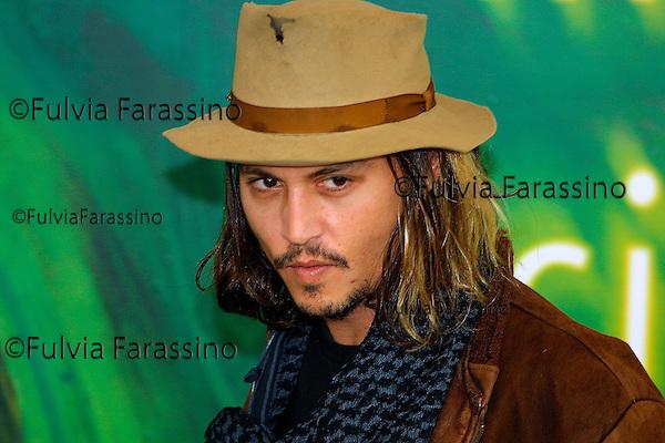 Johnny Depp, Mostra Internazionale d'Arte Cinematografica di Venezia, Venice Film Festival, 2001