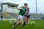 Sean O'Shea, Kerry in action against Liam Silke, Galway during the Allianz Football League Division 1 South Round 1 match between Kerry and Galway at Austin Stack Park in Tralee.