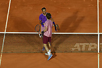 16th April 2021; Roquebrune-Cap-Martin, France;  Andrey Rublev (Rus) defeated Rafael Nadal (Esp) in Monte Carlo 6-2, 4-6, 6-2 during the Rolex Monte Carlo Masters
