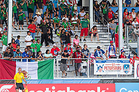 Bradenton, FL - Sunday, June 12, 2018: Fans prior to a U-17 Women's Championship Finals match between USA and Mexico at IMG Academy.  USA defeated Mexico 3-2 to win the championship.