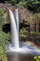 Rainbow Falls waterfall, Hilo, Big Island.