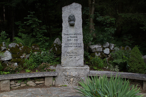 Genevieve Bouvier Memorial, French Alps, Chamonix, France.