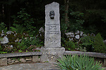 Genevieve Bouvier Memorial, French Alps, Chamonix, France.