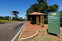 FOZ DO IGUAÇU, PR - 24.03.2020 – CORONAVIRUS-PR – Imagem da estrada de acesso ao Parque Nacional do Iguaçu totalmente vazio na manhã desta terça-feira (24).O parque continua fechado para o público até a segunda ordem. Fato ocorre devido ao COVID-19. (Foto: Paulo Lisboa/Brazil Photo Press)